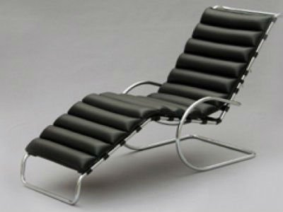LUDWIG MIES VAN DER ROHE CHAISE LONGUE