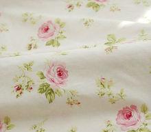 100% algodão 40 s 133 x 76 57/58 '' tecido para a roupa do bebê