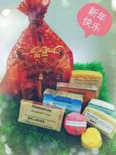 Handmade soap gift bag