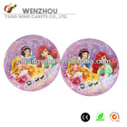 "Promotional 9"" Round Happy Birthday Paper Plates for Kids Birthday Party"