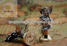 Deluxe Brass Handle Wax Stamps/Custom Metal Wax Seal Stamp