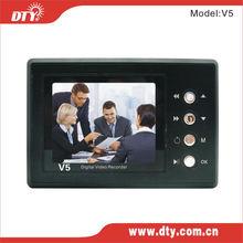 "Real Time 2.5""TFT Portable SD Card Password School Bus DVR.V5"