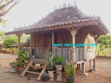 Classic Javanese Joglo wooden house - Teak Java antique House