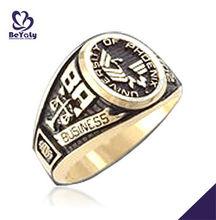 Custom made BA university of Phoenix business ring with chic design