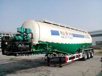 60T 3 axle bulk cement silos truck