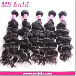 High quality cheap virgin brazilian wavy hair , virgin brazilian ocean tropic loose body wave hair