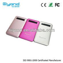 Huge volume capacity power bank 2000mah Alloy shell bateria externa for all model mobile phone