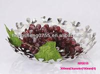 silver fruit tray dish pretty fruit trays luxury christmas fruit tray
