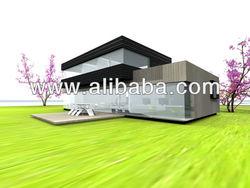 Prefabricated villa modern