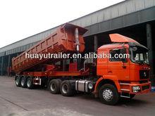 60 ton dump dumping dumper semi trailer