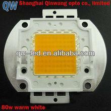 Power lightness of 80w warm white led chip 8000Lm (2700-3200K)