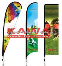 Teardrop banner,beach flag,banner advertisment