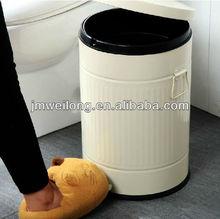 Galvanised steel color coded waste bins 3L/5L/12L/20L/30L40L
