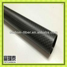 matte surface plain/twill weave carbon fiber tube 50mm 14mm