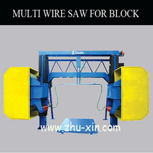 multi wire saw machine cutting block granite, also for marble