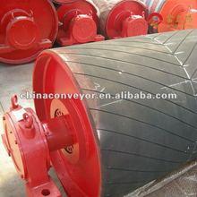 Belt conveyor pulley lagging for coal heavy industry