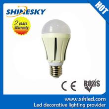 cheap e27 pir infrared motion sensor led light bulb lamp 900lm