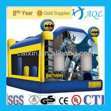 Popular children games strong PVC inflatable batman bouncy castle