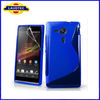 S Line S shape Wave TPU Gel soft Case Cover For Sony Xperia SP/M35h/M35c/C5303