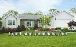 Ranch style kit light steel structure prefabricated house/home modular villa