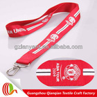 Silk screen printed customized design neck string