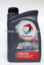 Total Quartz motor oil, Lubricants