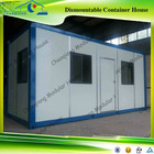New Dormitory Flat Pack Dismountable Prefab Shipping Container House For Sale