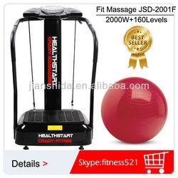 Hot selling MP3 2000W Vibration Machine Manual 160 levels speed