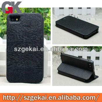 newest color case for blackberry z10 leather wallet case
