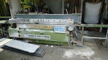 Straight edge polishing machine LCV 711 M-SU
