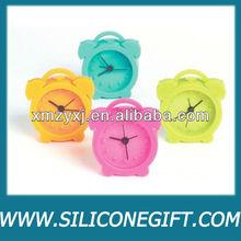 Mini Retro Silicone Alarm Clock, Assorted colors