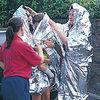 emergency survival blanket thermal blanket first aid
