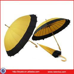 OEM and Factory Manufacturing 24 Rib Umbrella