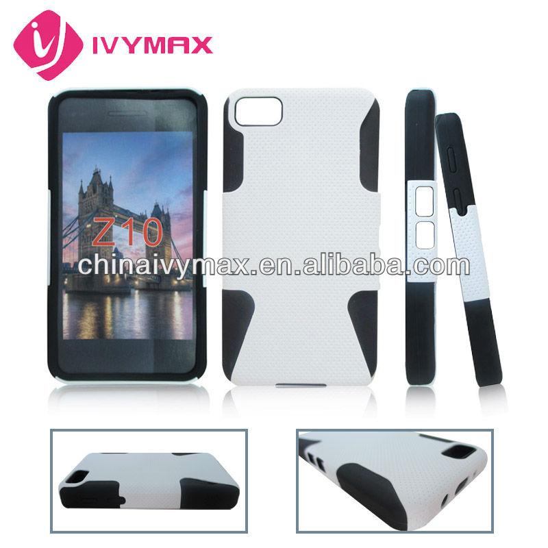 pure color case for Blackberry Z10 2013 fancy cellular