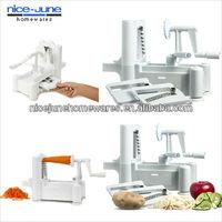spiral vegetable slicer/vegetable cutter/vegetable chopper