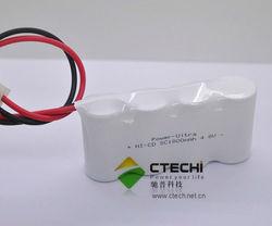 NI-CD SC Battery 1800mAh 4.8V Rechargeable Battery