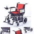 plegable de peso ligero de aluminio silla de ruedas de piezas de repuesto