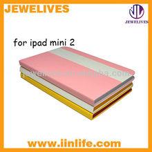 luxury design exclusive leather cover for ipad mini 2