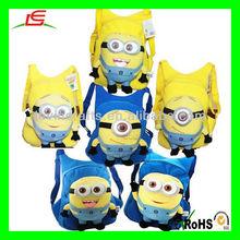 LE-D561 Despicable Me Minions Plush Toy Doll School Bag Hot