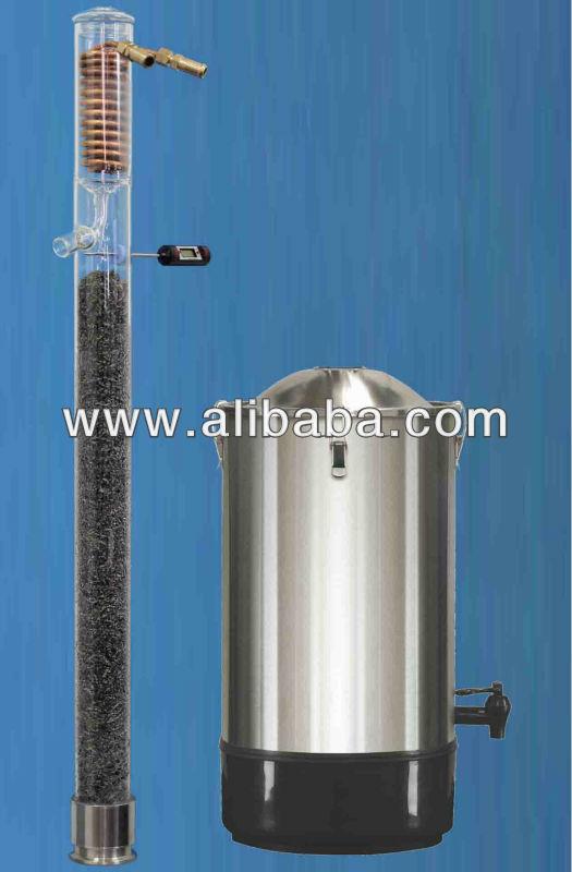 Reflux Distillation Distil Still Ethanol Alcohol Copper Stainless Steel