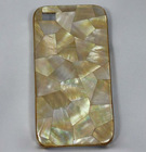 Cell Phone Cover inlay with Mother of Pearl shell,