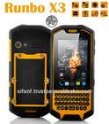 "Runbo X3 IP67 Waterproof Dustproof Shockproof Rugged WCDMA 3G Smartphone MTK6577 Dual Core 3.5"" Capacitive Screen Android 4.0 OS"