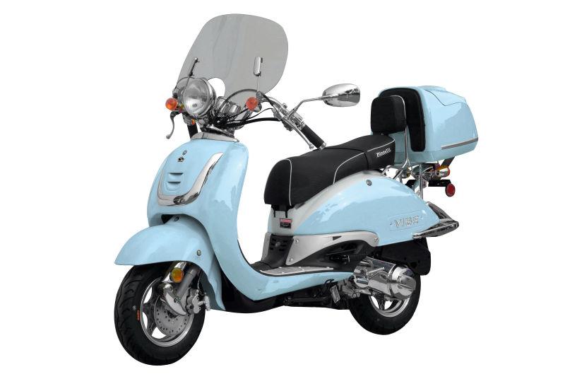 bintelli vibe 150cc gaz moto scooter dot epa