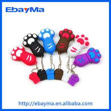 2gb memory card low prices bear paw usb flash drive,cat paw usb drive