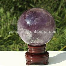 Natural Amethyst Gemstone Sphere ball/amethyst healing sphere for sale