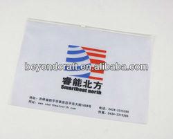 GOOD Price A4 A5 FC clear plastic PVC zipper file bag document envelope
