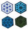 New Decor Six Corner Handmade Tile- Jaipuronline