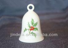 porcelain/ceramic bell for christmas