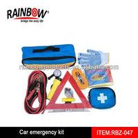 RBZ-047 car emergency tool kit with air compressor