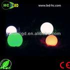 fantastic light! floating 1-2w swimming/garden pool Cool design led magic ball light